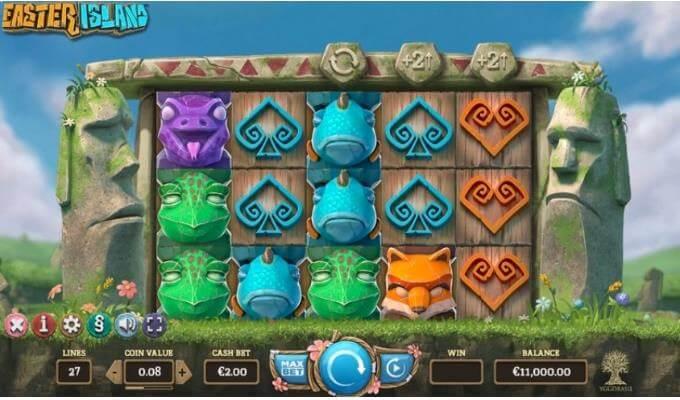Easter Island Yggdrasil Slot