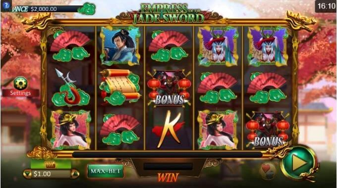 Empress of the Jade Sword slot
