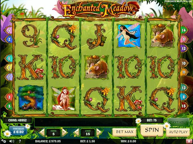 Enchanted Meadow Play'N Go Slot