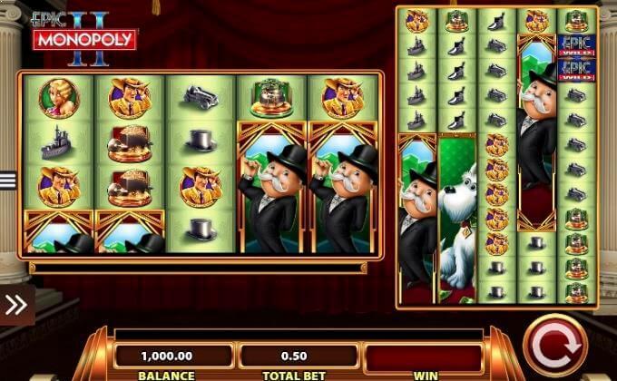 Epic Monopoly II WMS Slot