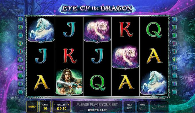 Eye of the Dragon Novomatic Slot