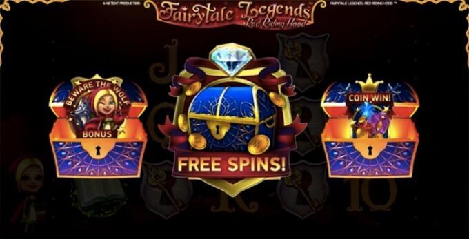 Fairytale Legends Red Riding Hood Screenshot Slot Truhen