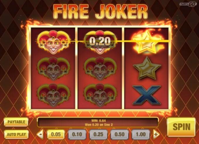 Fire Joker Play 'N GO Slot