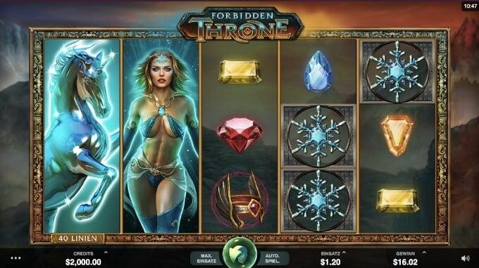 Forbidden Thrones Slot Microgaming