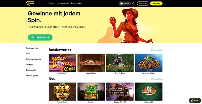 Fortune Legends Online Casino Review