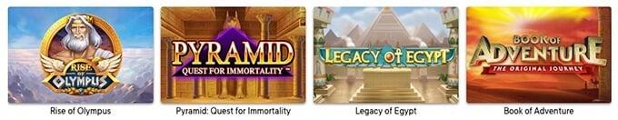 Slots im Fortune Legends