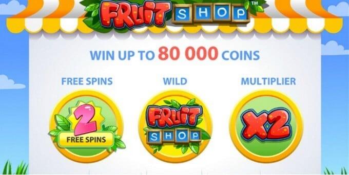 Fruit Shop Slot NetEnt