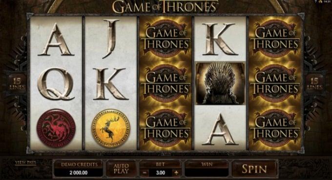 Game of Thrones Slot Screenshot