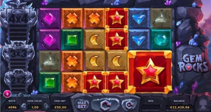 Gem Rocks Slot Thunderkick
