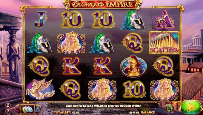 glorious empire slot netent