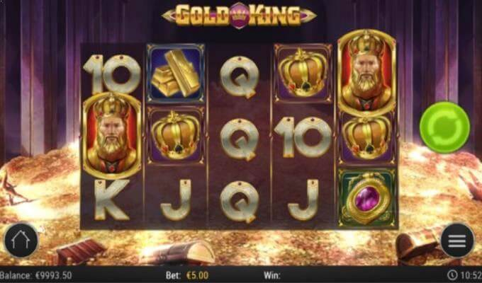 Gold King Play'n GO Slot