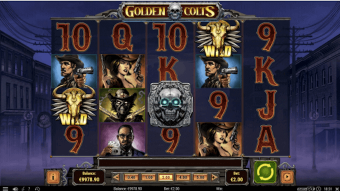 Golden Colts Play'n GO