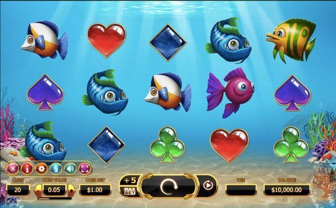 Golden Fish Tank Yggdrasil Slot