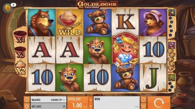 Goldilocks Slot Quickspin