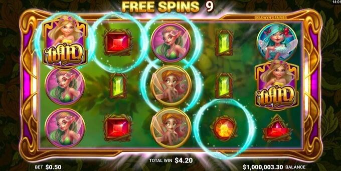 Microgaming Slot Goldwyn's Fairies
