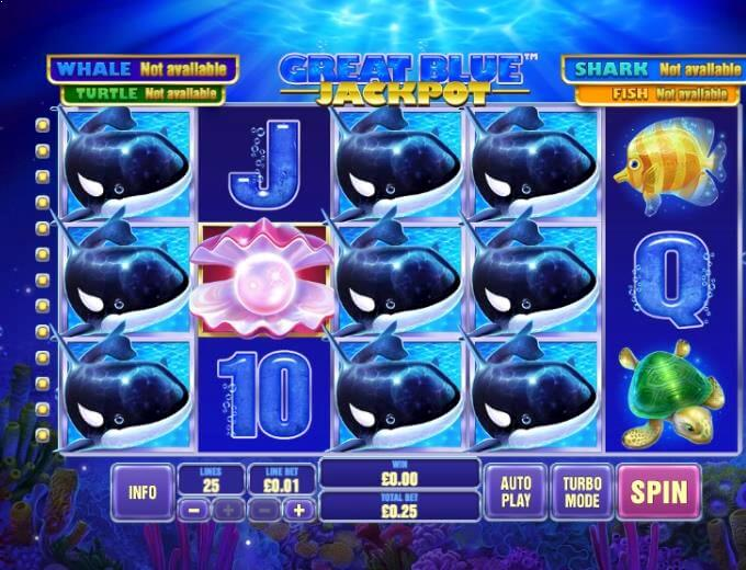 Great Blue Jackpot Slot