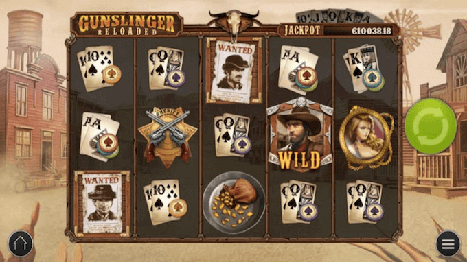 Gunslinger Reloaded Play'n Go Slot