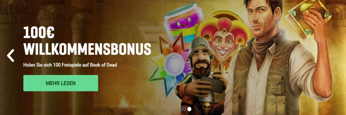 Guts Willkommens-Bonus