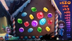 Hensel & Gretel Slot Candy House Bonus