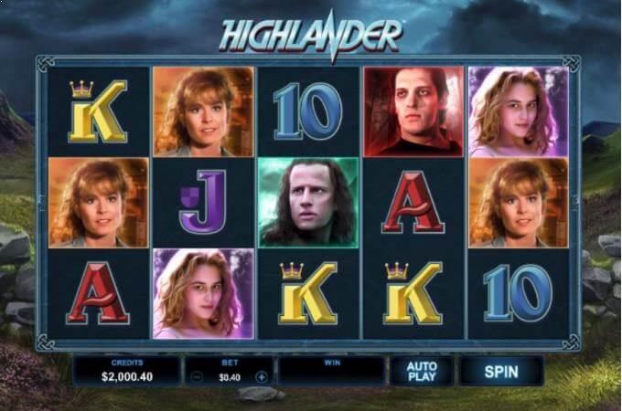 Highlander Micrograming Slot