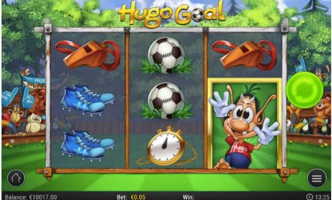 Hugo Goal Slot Play'n GO