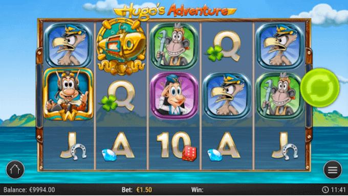 Hugo's Adventure Play'n GO
