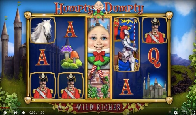 Humpty Dumpty Wild Riches Slot
