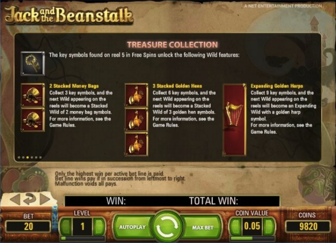Jack and the Beanstalk Treasure Collection Feature