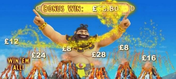 Jackpot Giant Slot Bonus Spiel