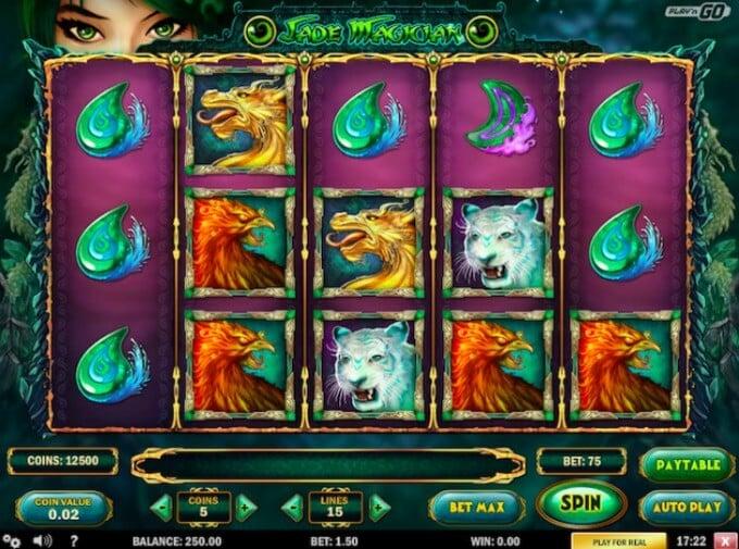 Jade Magician Slot Play 'N GO