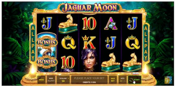 Jaguar Moon Novomatic Slot