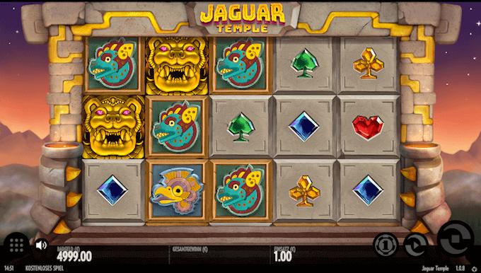 Jaguar Temple Thunderkick Slot