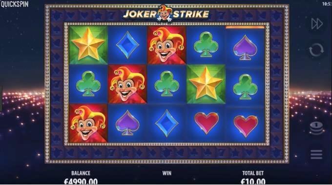 Joker Strike Quickspin Slot