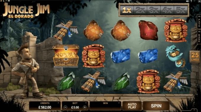 Jungle Jim Slot Microgaming