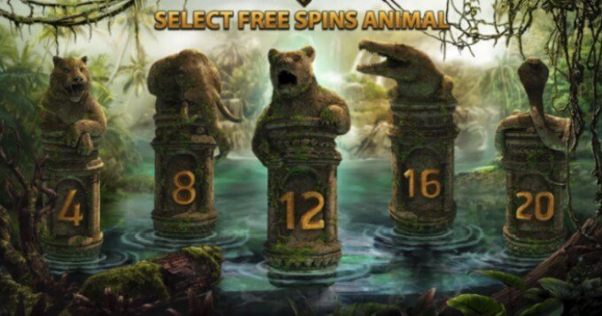 Jungle Spirit: Call of the Wild NetEnt 3D Slot Freispiel Feature