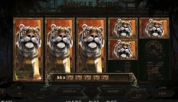 Jungle Spirit: Call of the Wild NetEnt 3D Slot, expanding Wild