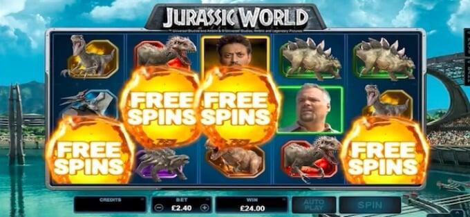 Jurassic World Microgaming Slot