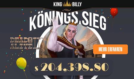 King Billy Casino Gewinne