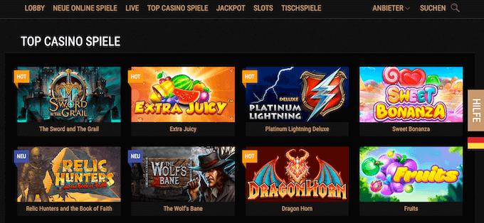 King Billy Casino Spiele