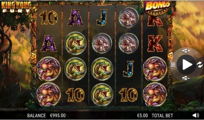 King Kong Fury Slot Quickspin