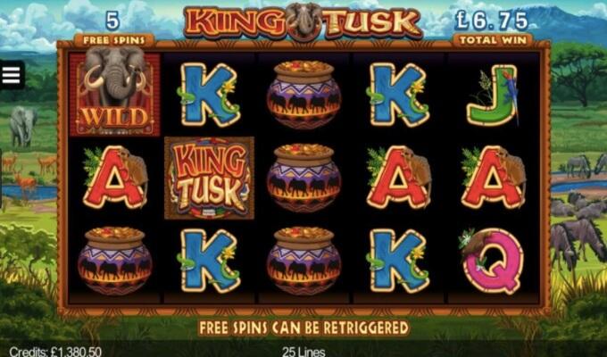King Tusk Freispiel Feature