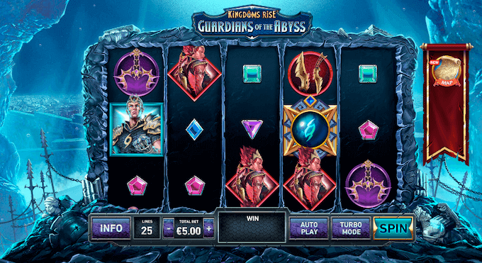 Kingdoms Rise: Guardians of the Abyss Playtech Slot