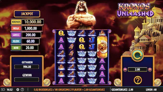 Kronos Unleashed WMS Slot