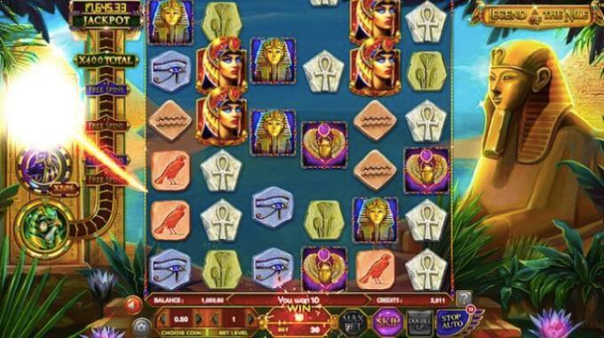 Legend of the Nile Betsoft Slot