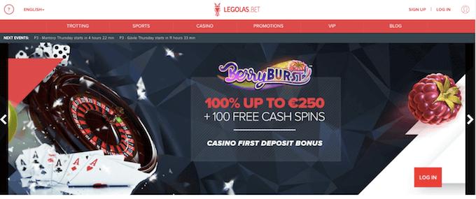 Legolas Casino Bonus