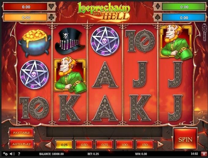 Leprechaun goes to Hell Unibet Play N GO Slot