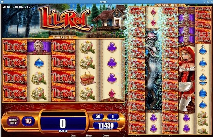 Li'l Red WMS Slot