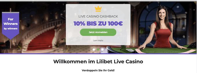Lilibet Live Casino