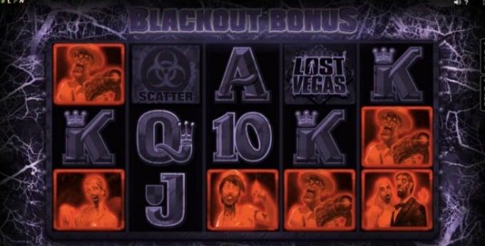 Lost Vegas Slot Blackout Bonus Feature