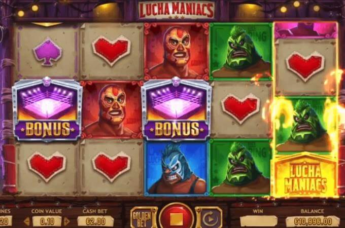 Lucha Maniacs Yggdrasil Slot